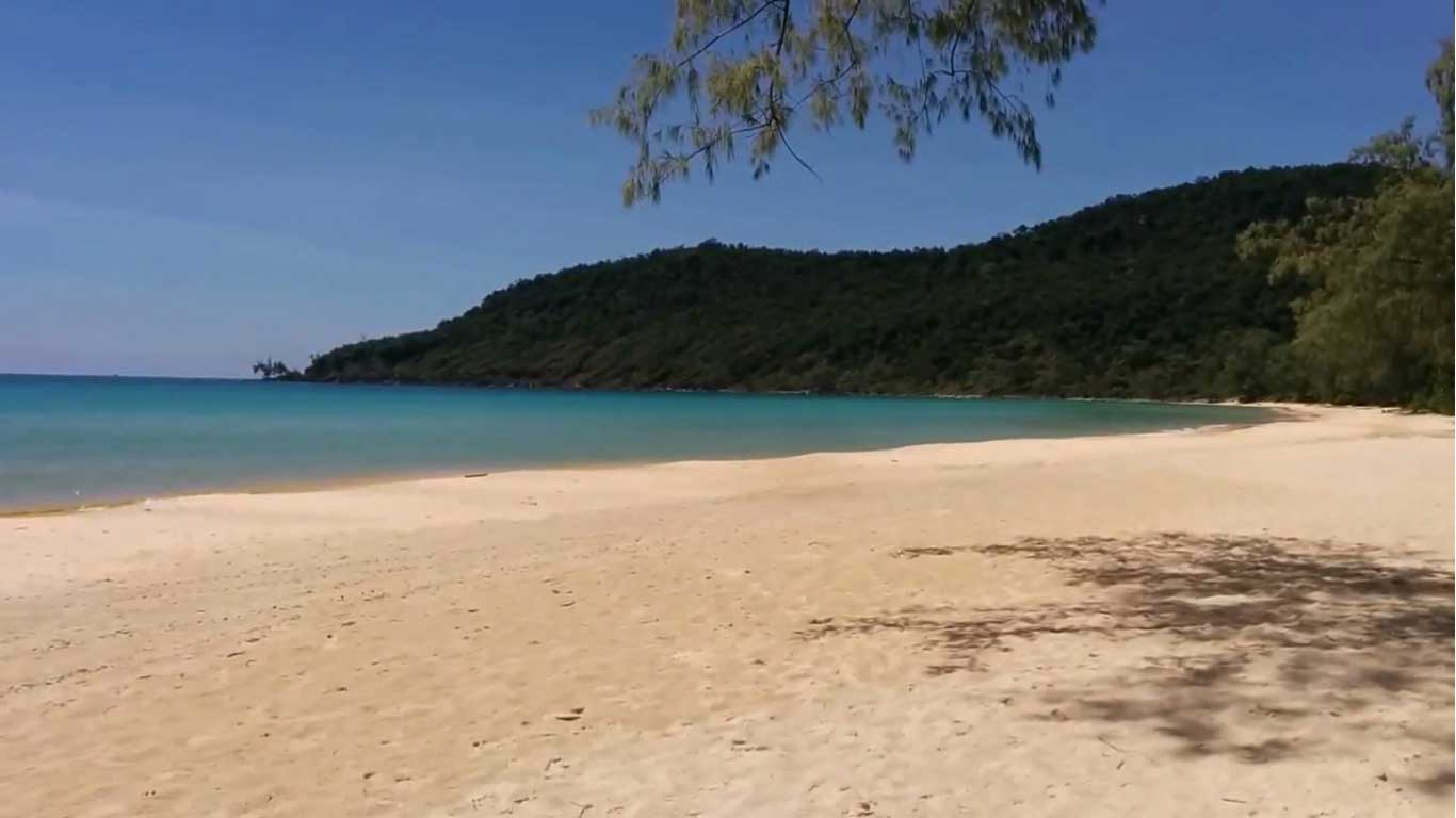 Lazy Beach on Koh Rong Samloem