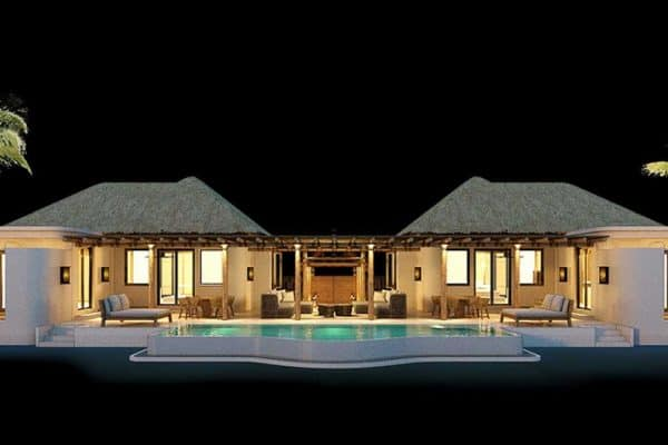 2 Bedroom Ocean View Pool Villa at The Royal Sands Koh Rong